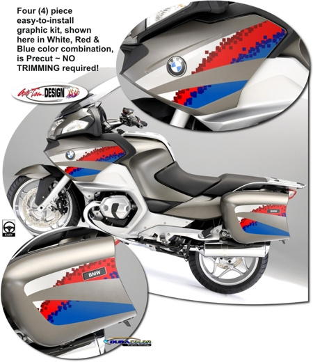 Bmw R 1200 Rt Motorcycle Graphic Kit 3