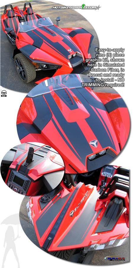 Polaris Slingshot Rally Graphic Kit 1