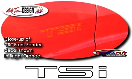 Tsi Front Fender Decal Set 1 For Chrysler Conquest