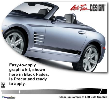Chrysler Crossfire Body Side Graphic Kit 1
