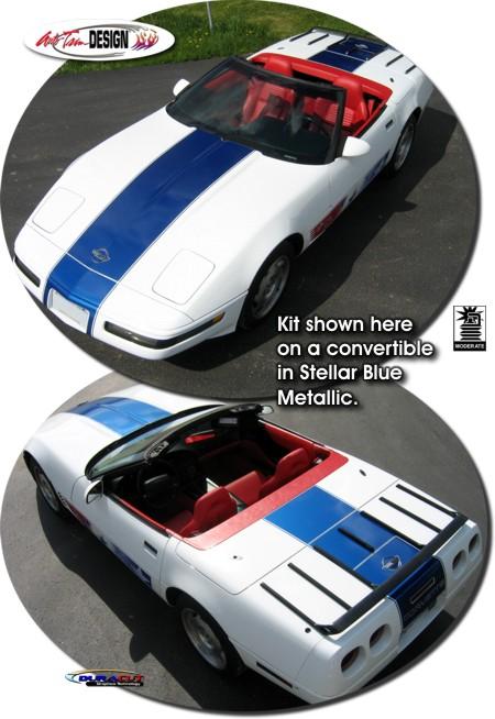 Chevrolet C4 Corvette Grand Sport Style Rally Stripe Kit 1