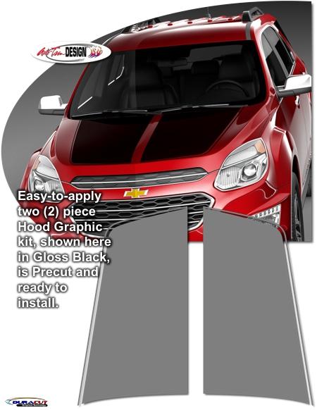 Chevrolet Equinox Hood Enhancement Graphic Kit 1