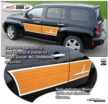 Wood Grain Graphic Panel Kit 1 For Chevrolet HHR
