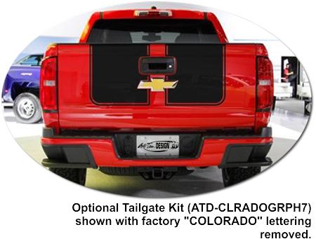 Chevrolet Colorado Rally Stripe Graphic Kit 2