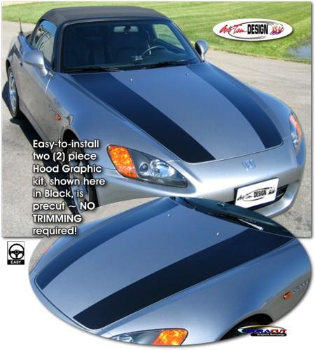 Rally Stripe Graphic Kit 2 For Honda S2000