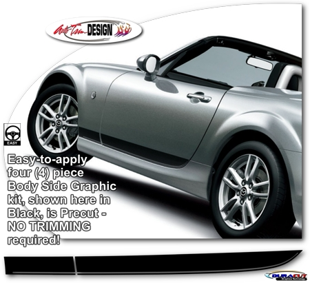 Mazda Mx 5 Miata Body Side Graphic Kit 3