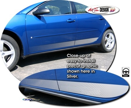 Pontiac G6 Body Side Graphic 1 Coupe Sedan Gxp