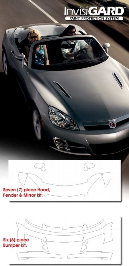InvisiGARD Paint Protection Kit For Saturn Sky
