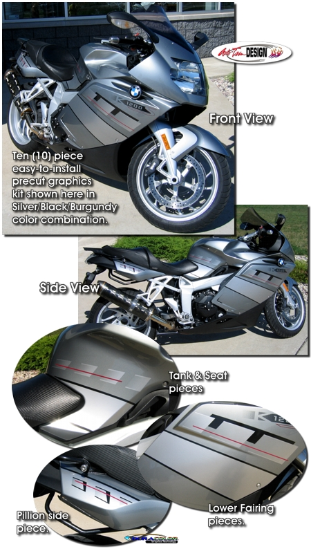Graphic Kit 1 For Bmw K 1200 S