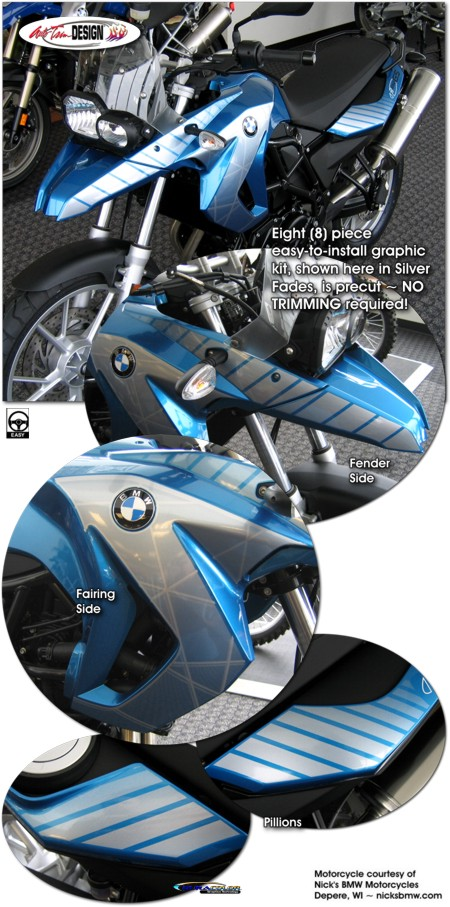 Bmw F 650 Gs Graphic Kit 1