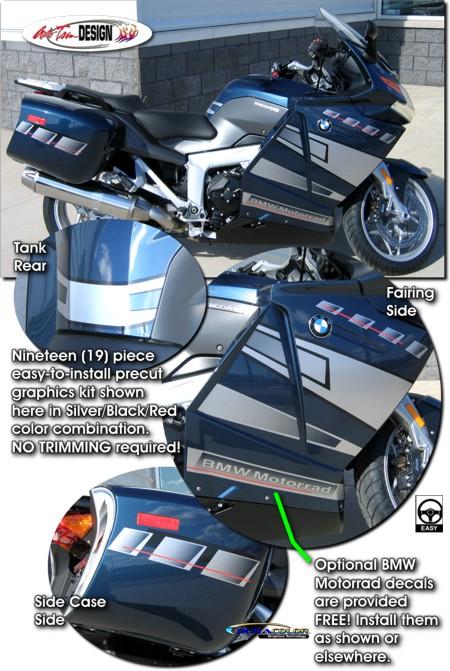 Graphic Kit 1 For Bmw K 1200 Gt K 1300 Gt