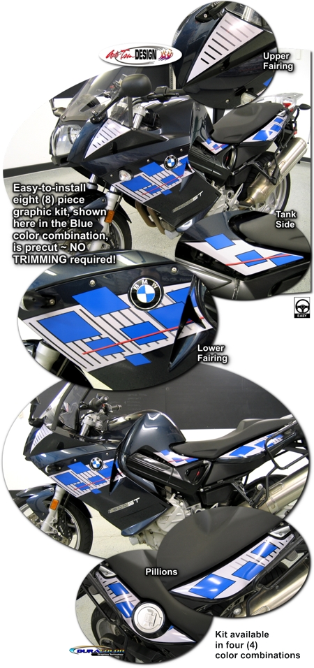 Graphic Kit 2 For Bmw F 800 St Motorcycle