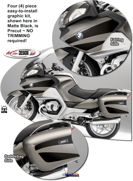 Bmw R 1200 Rt Motorcycle Graphic Kit 2