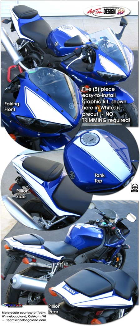 Graphic Kit 7 For Yamaha Yzf R6 Yzf R6s