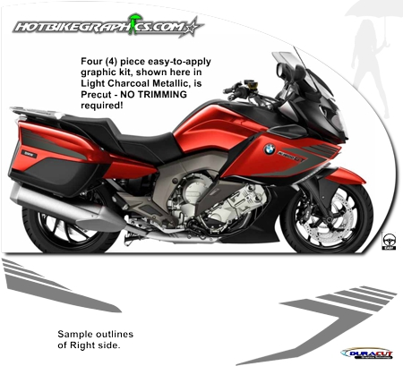 Bmw K 1600 Gt K 1600 Gtl Graphic Kit 3