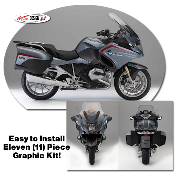 Graphic Kit 1 For Bmw R 1200 Rt