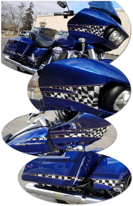 Harley Davidson Road Glide Graphics Kit 4 Finishline