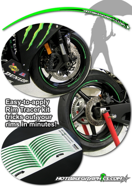 Motorcycle Rim Tracer Decal Kit 8 Hotbikegraphics Com
