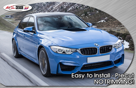 Power Dome Hood Highlight For 2015 Bmw M3