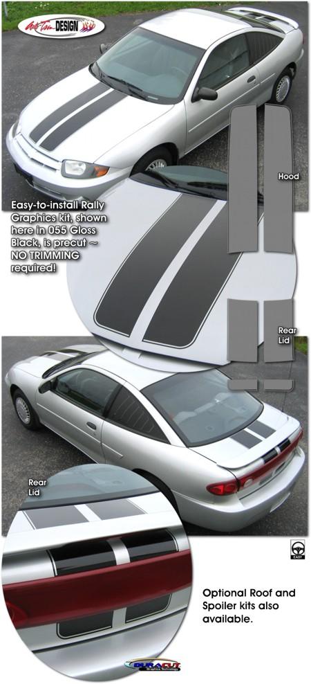 Chevrolet Cavalier Rally Stripe Graphic Kit 1 Toyota Z24