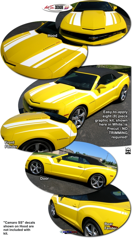 Chevrolet Camaro Pro Touring Style Graphic Kit Maisto