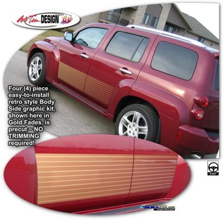 Body Side Graphic Kit 1 for Chevrolet HHR
