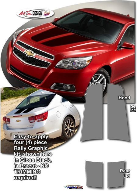 Chevrolet Malibu Rally Stripe Graphic Kit 1 Holden
