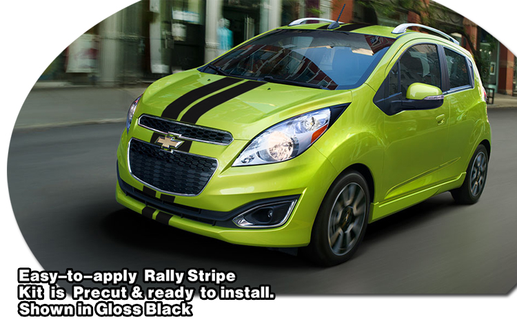Rally Stripe Graphic Kit 1 For Chevrolet Spark