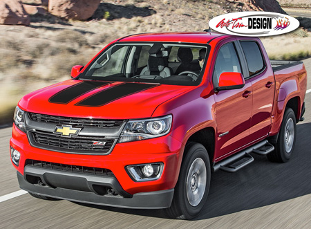Chevrolet Colorado Rally Stripe Graphic Kit 2