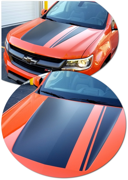 Chevrolet Colorado Trail Chief Hood Graphic