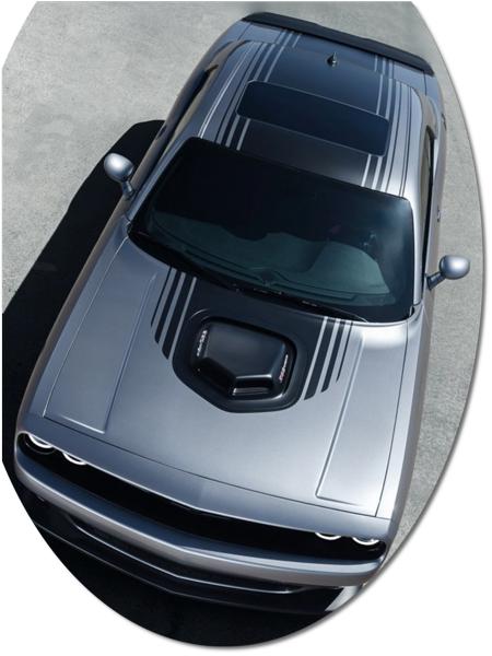 Dodge Challenger Shaker Style Graphic Kit 1 Mopar Part
