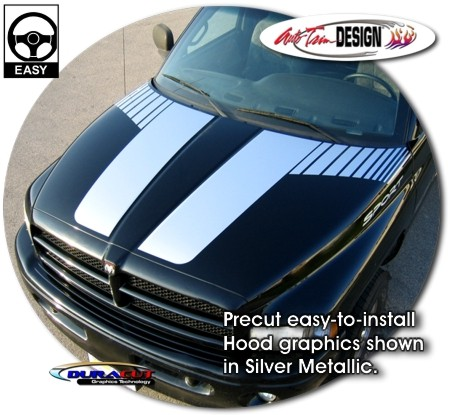 Hood Graphics Kit 1 Dodge Ram Truck