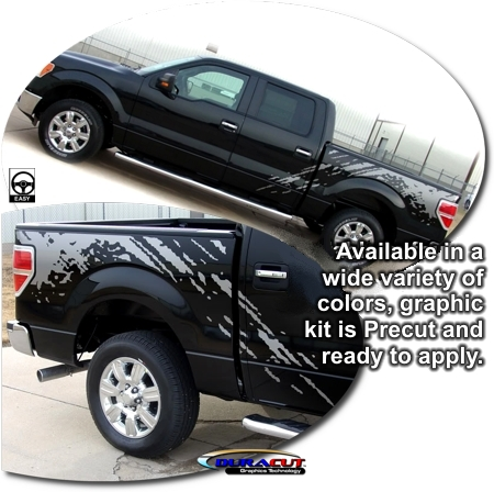 Ford F 150 Predator Body Side Graphic Kit Raptor Eagle