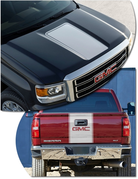 Gmc Sierra 1500 Rally Stripe Graphic Kit 2