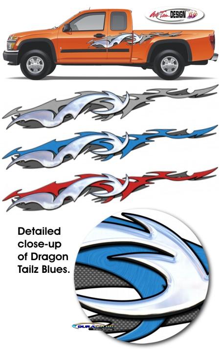 Dragon Tailz Graphic Kit 1