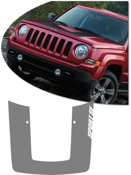 Jeep Patriot Hood Graphic Kit 1 Sport Se Limited Latitude
