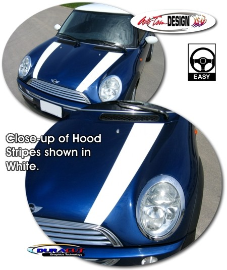 Hood Graphic Kit 1 For Mini Cooper