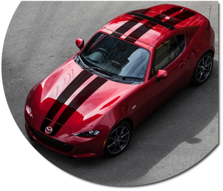 Mazda Mx 5 Miata Rally Stripe Graphic Kit 3 Rf Roadster
