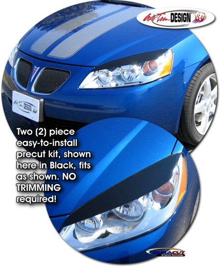 Headlight Eyelid Decal Kit 1 For Pontiac G6
