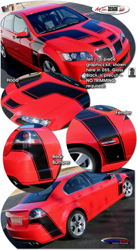 Stryker Graphic Kit 1 For Pontiac G8