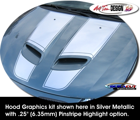 Pinstripe Highlight Option shown in Silver Metallic (ATD-PNTGTOGRPH6)