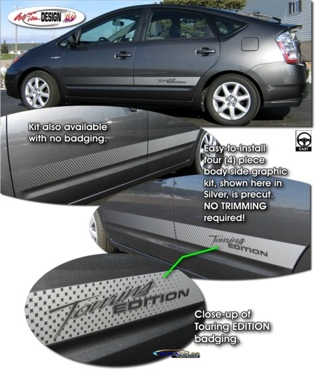 How To Start A Prius >> Body Side Graphic Kit 2 for Toyota Prius
