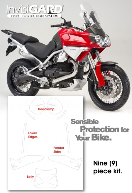 Invisigard Paint Protection Kit For Moto Guzzi Stelvio 1200