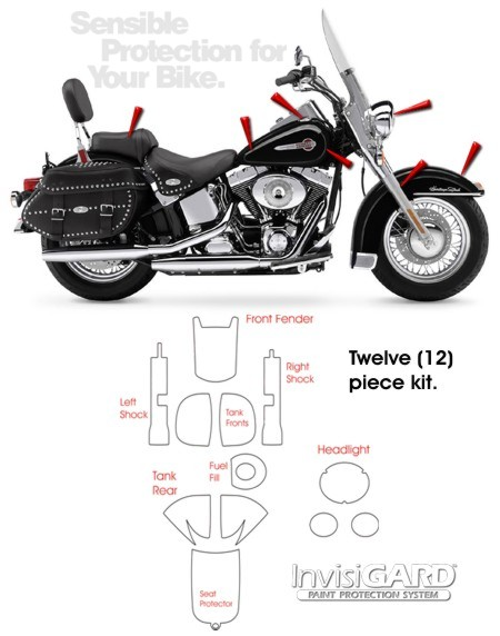 invisigard paint protection kit for harley