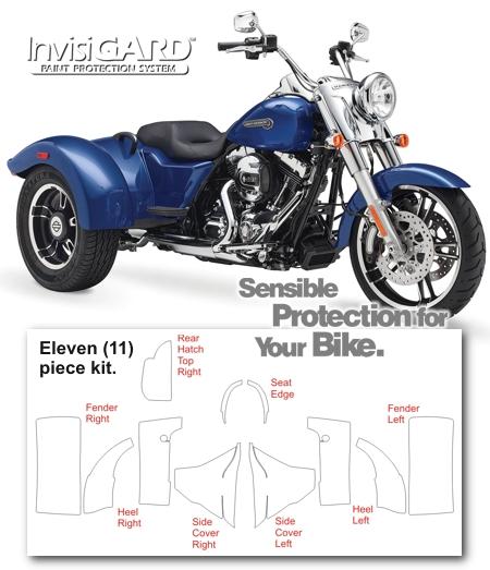 Harley Davidson Freewheeler Invisigard Paint Protection Kit