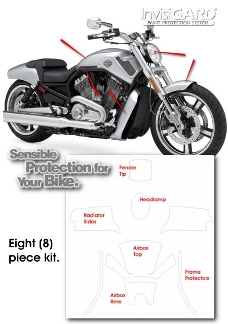 Invisigard Paint Protection Kit For Harley Davidson V Rod