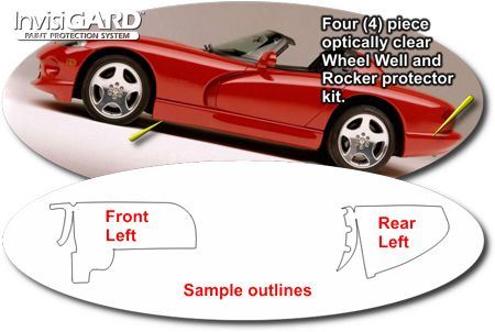 Invisigard Wheel Well And Door Sill Paint Protection Kit