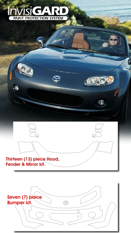 Mazda, MX-5, Miata, Paint Protection, Clear, Guard, Bra, InvisiGARD