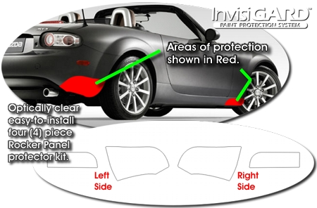 Mazda Mx 5 Miata Paint Protection Invisigard Clear