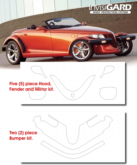 Plymouth Prowler InvisiGARD Paint Protection Kit